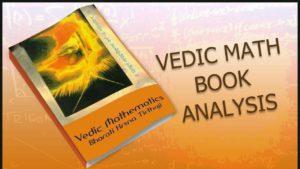Vedic Math Book Analysis