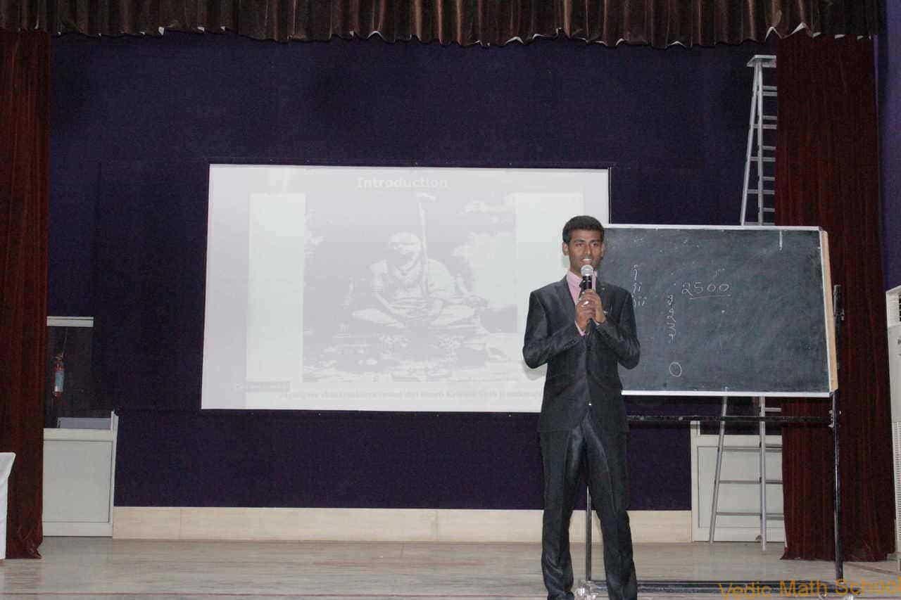 Vedic Maths workshop