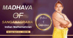 Mādhava of Sangamagrama
