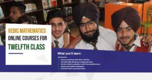 Vedic Mathematics Online Course for Twelfth Class