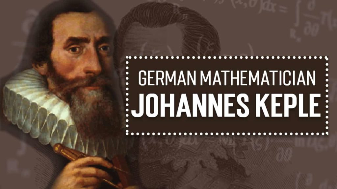 Johannes Keple german mathematician