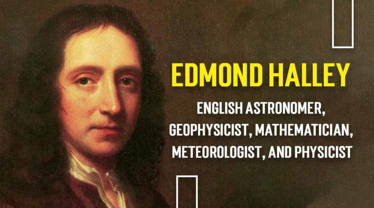 Edmond Halley English astronomer, geophysicist, mathematician, meteorologist, and physicist