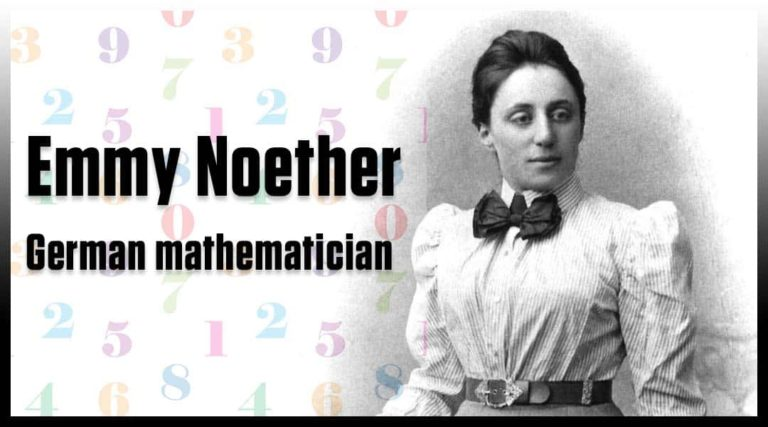 Emmy Noether German mathematician